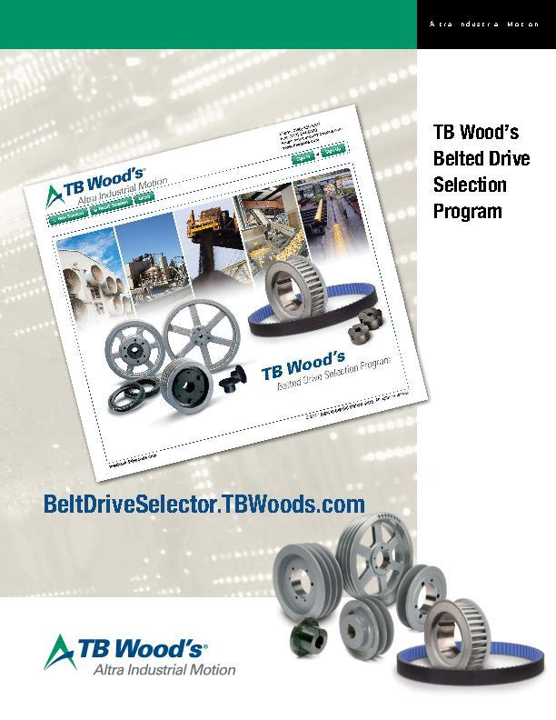 Brochures | TB Wood's Incorporated